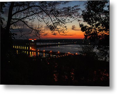Power House Metal Print