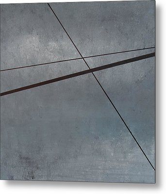 Power Lines  05 Metal Print by Ronda Stephens
