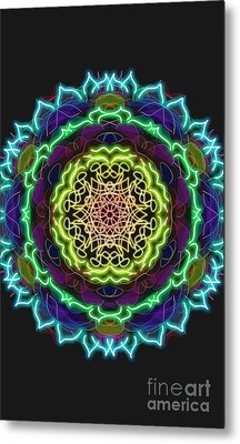 Power Of Attraction Metal Print by Uma Swaminathan
