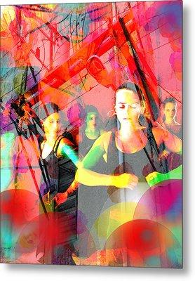 Power Of Cuba   Flamenco Metal Print by Ann Tracy