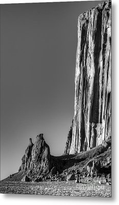 Power Of Stone Metal Print by Bob Christopher