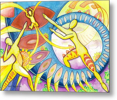 Power Of The Dance - Family Metal Print