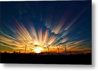 Power Source Metal Print by Matt Molloy