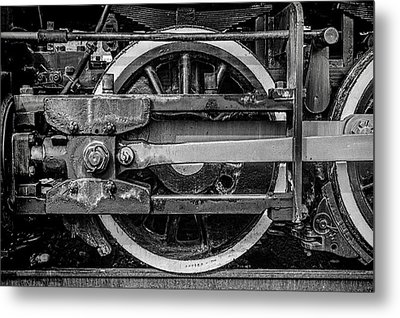 Metal Print featuring the photograph Power Stroke by Ken Smith