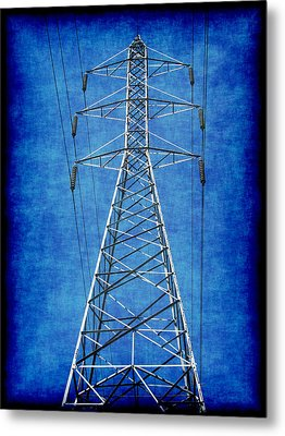 Power Up 1 Metal Print by Wendy J St Christopher