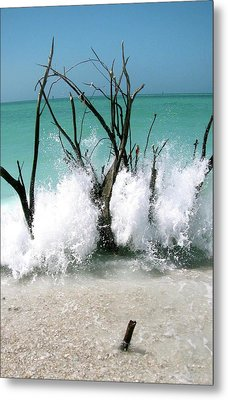 Power Wave  Metal Print