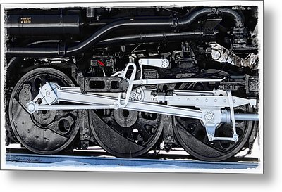 Power Wheels Metal Print