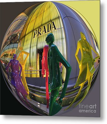 Prada Metal Print by Scott Cameron
