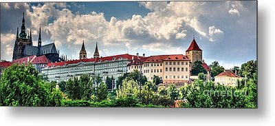 Metal Print featuring the photograph Prague Castle by Joe  Ng