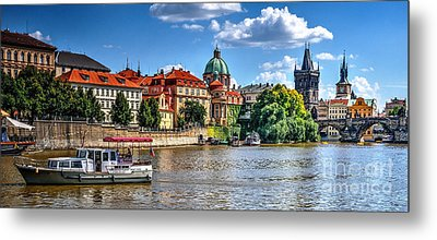 Metal Print featuring the photograph Prague by Joe  Ng