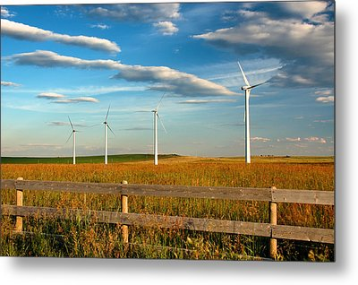 Metal Print featuring the photograph Prairie Wind 1 by Trever Miller