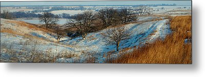 Prairie Winter Metal Print