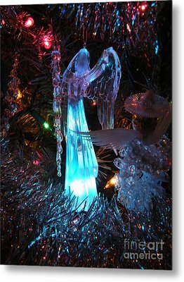 Praising Angel Metal Print