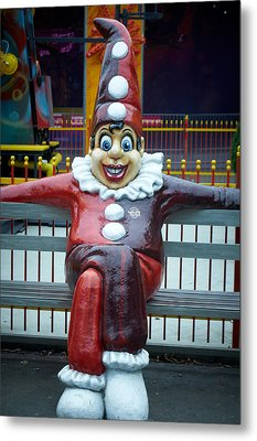 Prater  Clown Metal Print