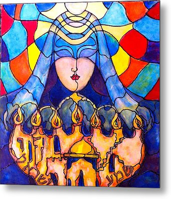 Prayer Metal Print by Rae Chichilnitsky