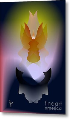 Prayers And Lies Metal Print