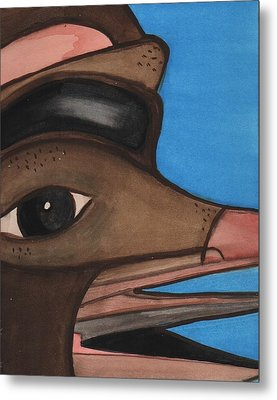 Pre-colombian Artifacts 2 Metal Print by Kiara Reynolds