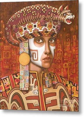 Pre-inca 1 Metal Print by Jane Whiting Chrzanoska