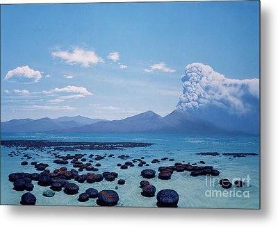 Precambrian Stromatolites Metal Print by Chase Studio