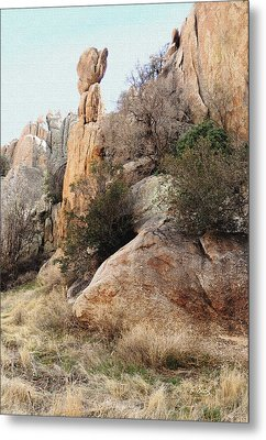 Precarious Metal Print by Gordon Beck