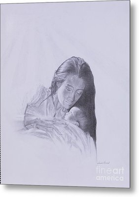 Precious Gift From The Life Of Jesus Series Metal Print by Susan Harris