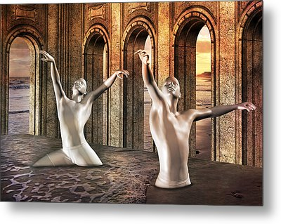 Precisely Aware Metal Print by Betsy Knapp