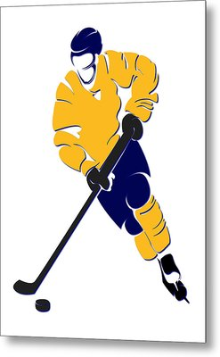Predators Shadow Player Metal Print by Joe Hamilton