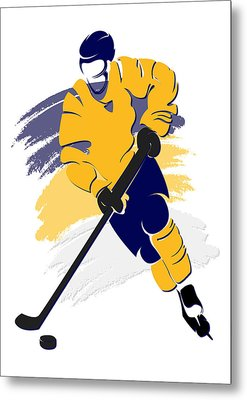 Predators Shadow Player2 Metal Print by Joe Hamilton