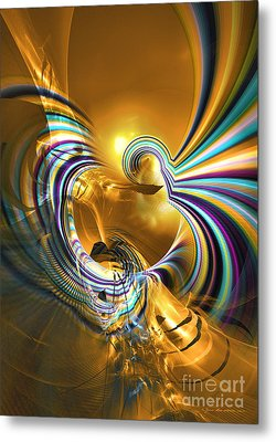 Prelude Of Colors - Surrealism Metal Print by Sipo Liimatainen
