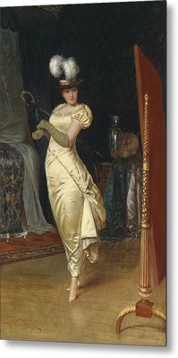 Preparing For The Ball Metal Print by Frederick Soulacroix