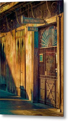 Preservation Hall Metal Print