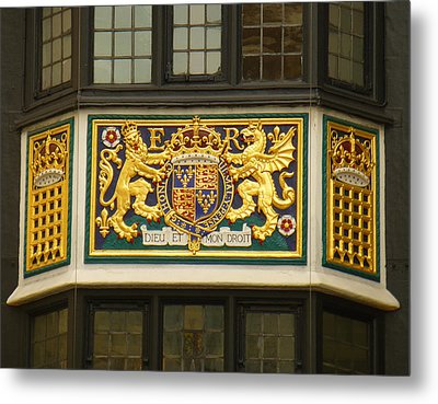 Preserving The Monarchy Metal Print