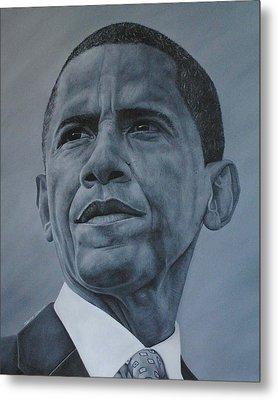 President Obama Metal Print