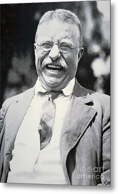 President Theodore Roosevelt Metal Print by American Photographer