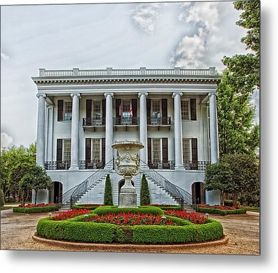 President's Mansion - University Of Alabama Metal Print
