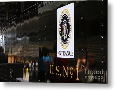 President's Train  Metal Print by Andres LaBrada