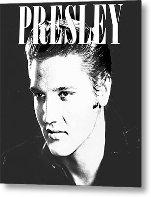 Presley Look Metal Print by Gina Dsgn