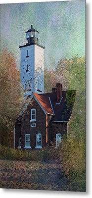 Presque Isle Lighthouse Metal Print