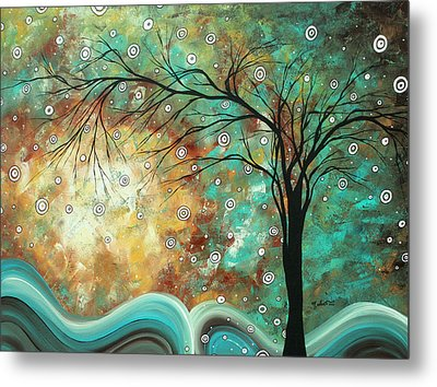 Pretty As A Picture By Madart Metal Print by Megan Duncanson