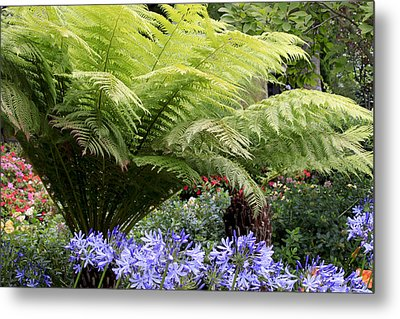 Pretty Garden Metal Print by Ivete Basso Photography