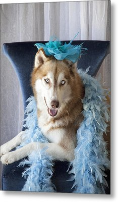Pretty Girl Metal Print by Lisa Jane