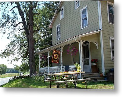 Metal Print featuring the photograph Pretty In Pennsylvania by Barbara McDevitt