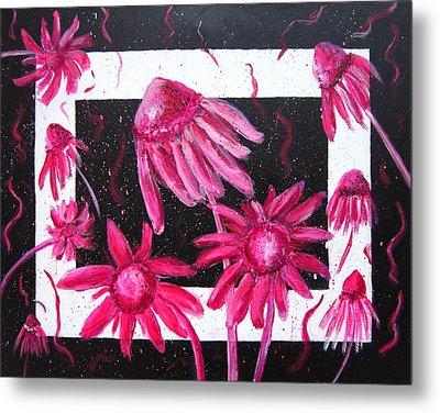Pretty In Pink 2 Metal Print by Marita McVeigh