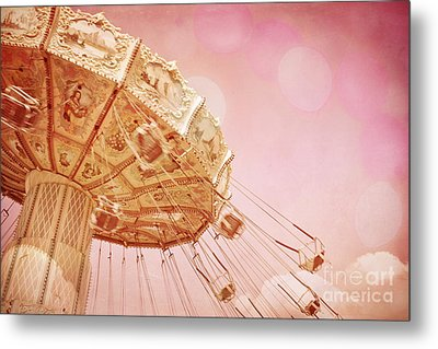 Carnival - Pretty In Pink Metal Print by Colleen Kammerer