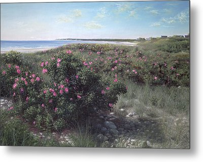Pretty In Pink Metal Print by Julia O'Malley-Keyes