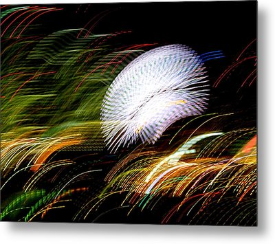 Pretty Little Cosmo - 2 Metal Print by Larry Knipfing