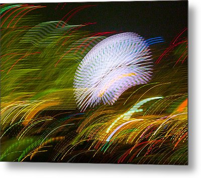 Pretty Little Cosmo - 3 Metal Print by Larry Knipfing