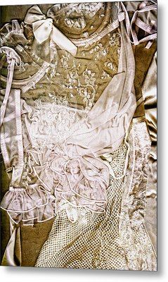 Pretty Things 1 - Lingerie Art By Sharon Cummings Metal Print by Sharon Cummings