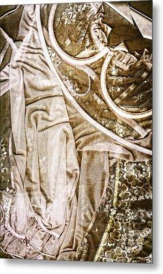 Pretty Things 4 - Lingerie Art By Sharon Cummings Metal Print by Sharon Cummings