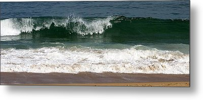 Pretty Wave Metal Print by Eunice Miller